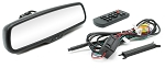 Rostra Tailgate Handle Backup Camera & Manual Dim Rear View Mirror w/2-Input 4.3