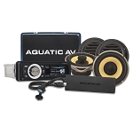 Aquatic AV AQ-UHP-2 Ultra Harley Stereo/Speaker/Amp Package For 1998-2013 Harley-Davidson® Motorcycles