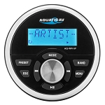 Aquatic AV AQ-WR-5F Standard Marine Gauge Size Wired Waterproof Marine Remote Control