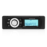 Aquatic AV MP6 Shallow Mount Waterproof Bluetooth USB Marine / Boat / Powersports Stereo
