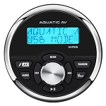 Aquatic AV WR6 Standard Marine Gauge Size Wired Waterproof Marine Remote Control