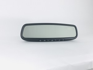 Gentex Homelink mirror with floating compass display